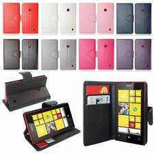 Magnetic PU Leather Wallet Flip Phone Case Cover For Nokia Lumia 520 With Stand