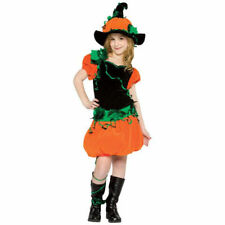 Child Pumpkin Girl Costume