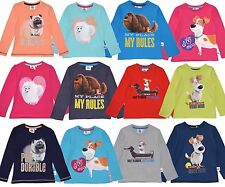 OFFICIAL SECRET LIFE OF PETS SHORT or LONG SLEEVE T SHIRT/TOP 2 3 4 5 6 7 8 YRS