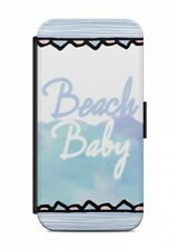 Huawei BEACH PARTY Flipcase Tasche Flip Hülle Case Cover Spruch