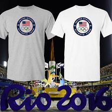 TEAM USA Logo RIO 2016 SHIRT OLYMPIC GAMES T-SHIRT Print in USA, US Seller