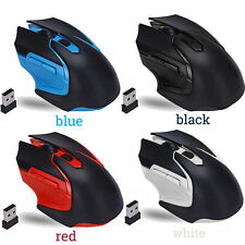 2.4GHz 3200DPI Wireless Mouse Da Gioco Ottico Mice Per Computer portatile del PC