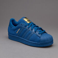 Scarpe Adidas Superstar Junior s76624 bambino Navy sneakers Mesh