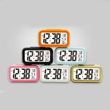 Digital Luminous Electronic Alarm Clock with Date & Temperature Display