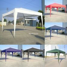 Gazebo Pop Up 3X3M Impermeable Plegable Jardín Marquee Carpa Reception Tienda