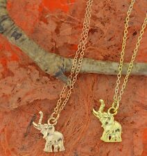 Mommy and me Cute Baby Elephant Necklace - Sterling Silver - Gift Idea!!!
