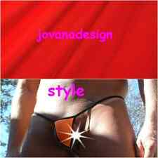 jovanadesign Mens Extreme Smallest G-String, CRIMSON (RED), XS, S, M, L, XL