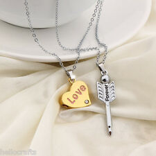 """Fashion Romantic Letter """"Forever Love"""" Chain Valentines Day Gift Necklace"""