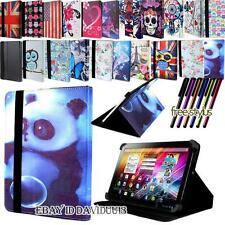 """New FOLIO LEATHER STAND COVER CASE For Various 7"""" 8"""" 9"""" 10"""" My Go GoTab Tablet"""
