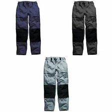 Dickies Mens Grafted DuoTone Work Trousers / Workwear Pants / Bottoms