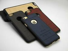 Case For iPhone 6, 6+, 5,5S - Wood Design Leather Classical Vintage Retro Style