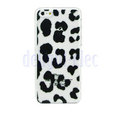 Patterned Transparent Plastic Hard Silicone Case Cover Shell For iPhone 6 6S DE