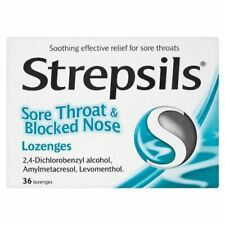 Strepsils Sore Throat And Blocked Nose Lozenges - 3 Pack
