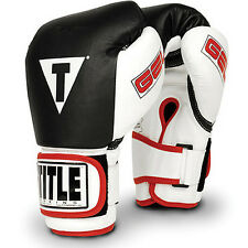 Title Boxing Gel World Bag Gloves - Black