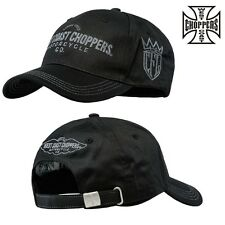 West Coast Choppers Cap Wing Logo Mütze Kappi Einstellbar Biker Custom NEU NEW