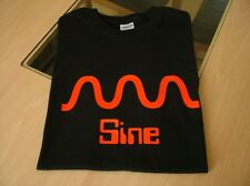T SHIRT SYNTH DESIGN SINE WAVE MODULAR SYNTH VCO S M L XL XXL
