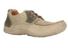 WOODLAND MEN'S KHAKI CASUAL SHOES (GC 1617114-KHAKI)