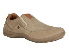 WOODLAND MEN'S KHAKI CASUAL SHOES (GC 1615114-KHAKI)