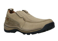 WOODLAND MEN'S KHAKI CASUAL SHOES (OGC 0419107-KHAKI)