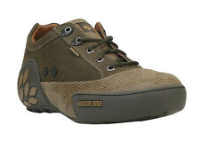 WOODLAND MEN'S OLIVE GREEN CASUAL SHOES (GC 0549108Y15-OLIVE GREEN)