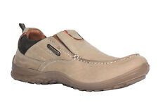WOODLAND MEN'S KHAKI CASUAL SHOES (GC 1614114-KHAKI)