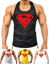 Mens MMA GYM BODYBUILDING MOTIVATION VEST BEST WORKOUT CLOTHING TRAINING TOP