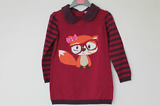 BNWT Baby Girls Winter Berry Knitted Dress Age 18-24 Months *FREE P&P*