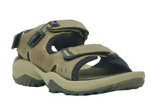 WOODLAND MEN'S KHAKI CASUAL SANDALS (GD 1607114-KHAKI)