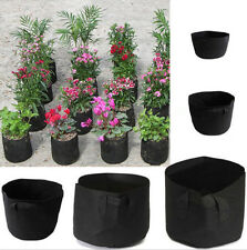 1xThickening Fabric Pot Plant Pouch Root Container Grow Bag Aeration Container