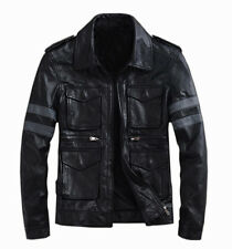 Gordania Limited Edition Resident Evil Leather Jacket For Men GD262