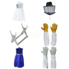 Beekeeping Equipment Bee Keeping Coat Suit / Gloves / Bee Hive Holder Mesh Hat