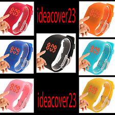OROLOGIO FASHION DA POLSO DIGITAL LED QUARTZ VARI COLORI SILICONE ANALLERGICO