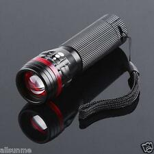Powerful 3500 Lumens Zoomable CREE XML T6 LED 18650 Flashlight Torch Light Lamp
