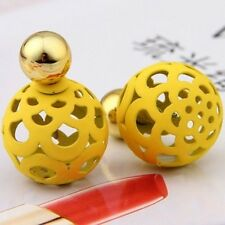 2016 Summer style hot explosion models simple double color ball stud earrings th