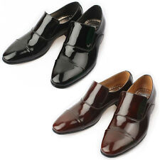 Mooda Mens Leather Loafer Shoes Classic Formal Lace up Dress Shoes ZentleS UK