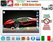 TABLETA 10.1 PULGADAS 3G OCTA CORE 8 x 2.0 ghz 4GB RAM 32GB ROM ANDROID 5.1 2