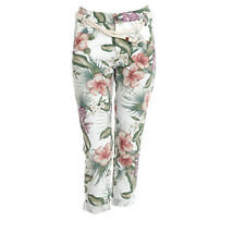 NEW Franklin And Marshall Trousers Women Multi-coloured Cotton: 100%