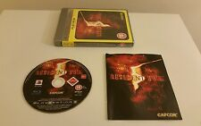 Resident Evil 5 PS3 Game, mint and complete, Sony PlayStation 3. PAL