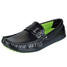 Mocas Black Men's Driving Loafers