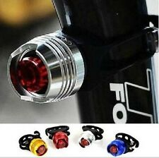 LED Waterproof Bike Bicycle Cycling Front Rear Tail Helmet Red Flash Lights Safe