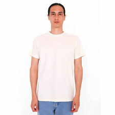 American Apparel Organic Fine Jersey Short Sleeve T-Shirt - Natural
