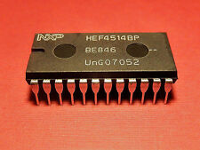 HEF4514BP 4000 CMOS 4514 NXP Semiconductors