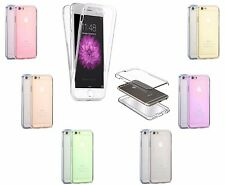 360° Shockproof Silicone Protective Clear Case Cover For All Apple iPhone Models