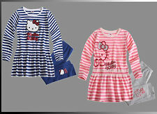 HELLO KITTY SET LEGGINS PULLOVER Mädchen Kombi Tunika Pulli Gr. 92 - 134 Neu **