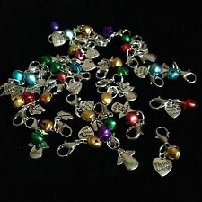 CHARM WITH BELL FOR PURSE, BAG, ZIP ETC GIFT  *UK*