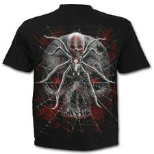 SPIRAL DIRECT NEW SPIDER SKULL T-Shirt,Biker/Skull/Tattoo/Tribal/Metal/Goth/Top