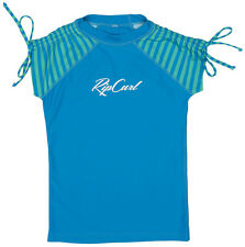 RIP CURL CHICA THAT STRIPES SS Lycra 2015 blue UV Camiseta
