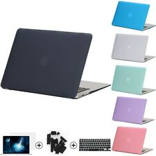 Crystal Clear/Matte Rubberized Hard Case Cover for Macbook Pro 13.3 15.4 Pro Ret