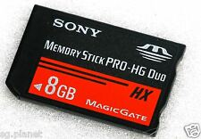 Sony 8GB Memory Card Stick PRO HG Duo HX MagicGate for PSP Console and Camera