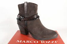 Marco Tozzi Women's Boots 25370 Ankle boots Genuine leather brown NEW